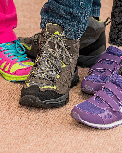 Saving Money on Children's Shoes