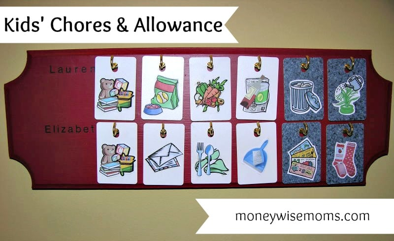 Kids Chores and Allowance {Guest Post}