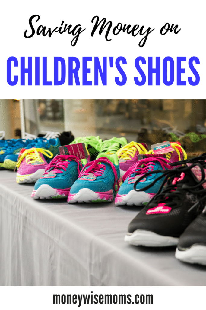 saving money on childrens shoes