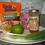 Mango Pork & Wild Rice Recipe