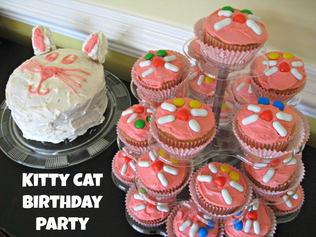 Kitty Cat Birthday Party - birthday party ideas on a budget