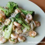 Garlic Shrimp & Broccoli Toss