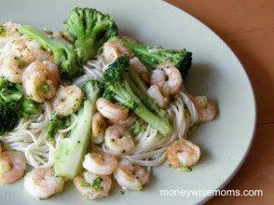 Shrimp and Broccoli Toss