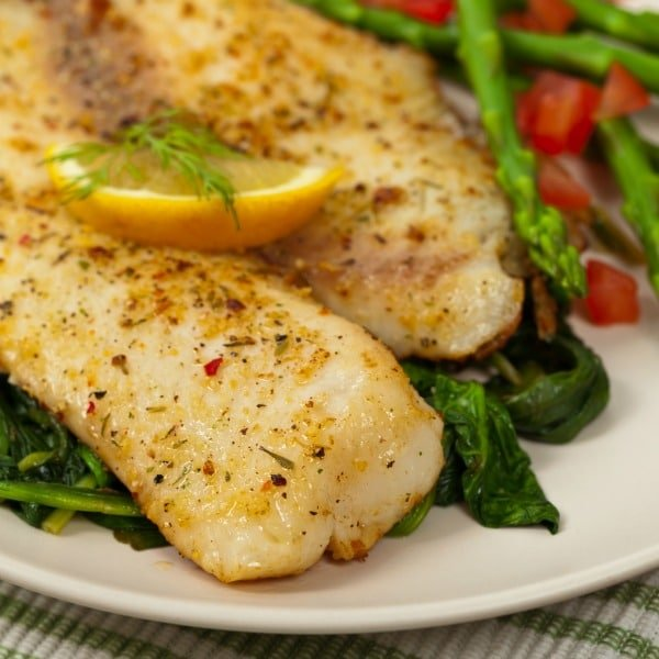 Easy Baked Tilapia {20 Minute Meal}