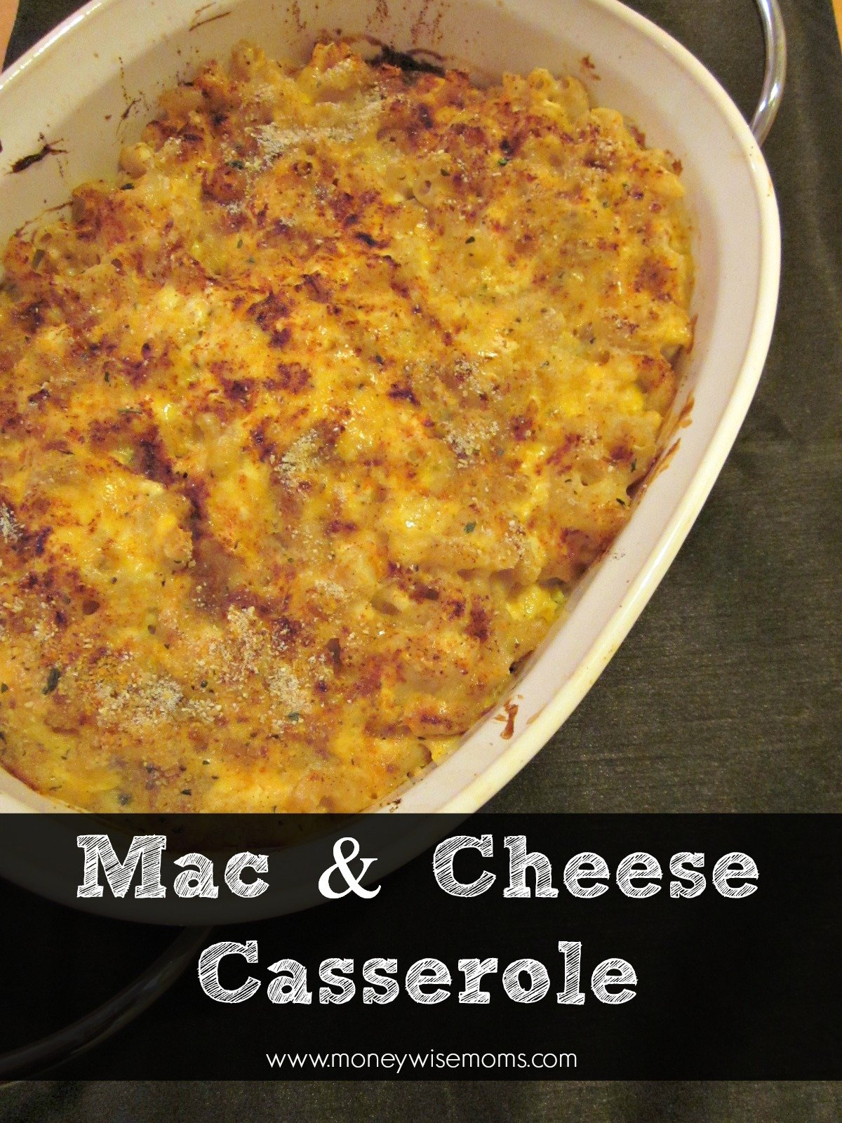 Gluten-Free Mac and Cheese Casserole