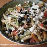Spinach & Feta Pasta Salad