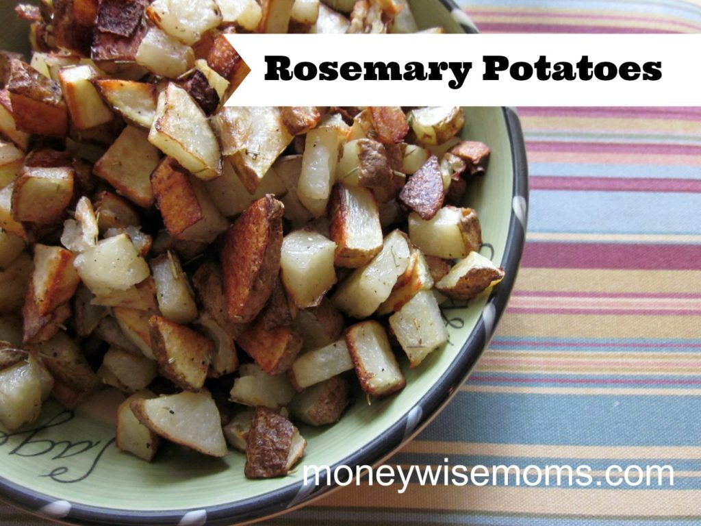 Rosemary Potatoes | MoneywiseMoms