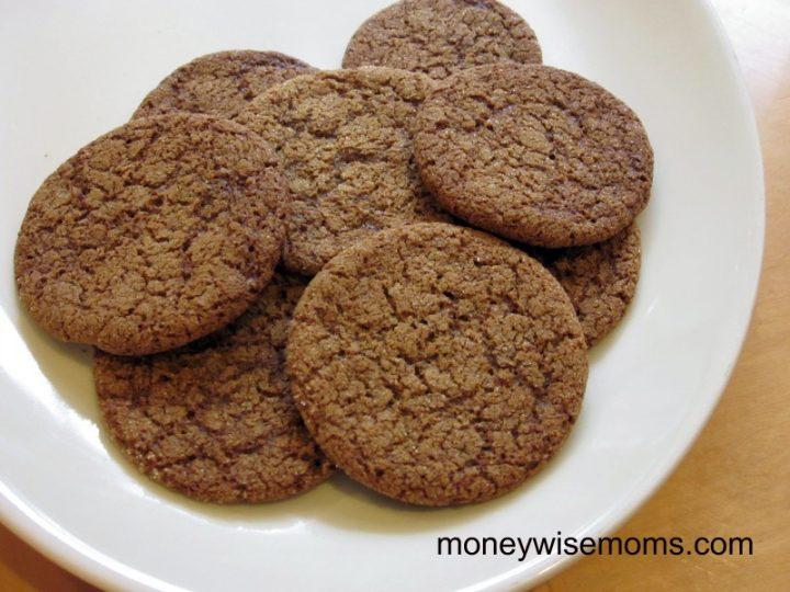 Gluten Free Ginger Snaps cookie recipe