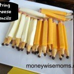 Make this Easy String Cheese Pencils Snack Right Now