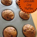 Whole Wheat Pumpkin Chocolate Chip Mini Muffins