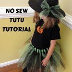 How to Make a No-Sew Tulle Skirt