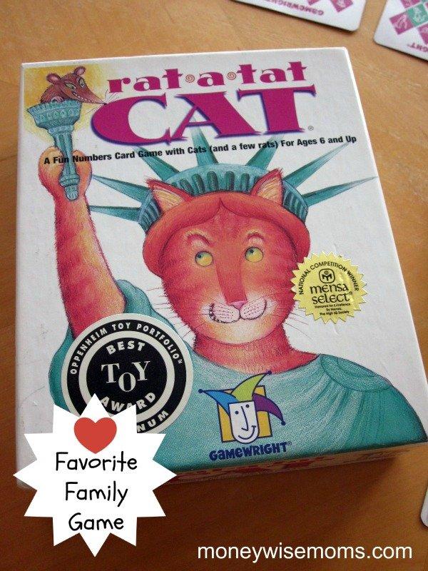 Rat a Tat Cat {Favorite Family Game}