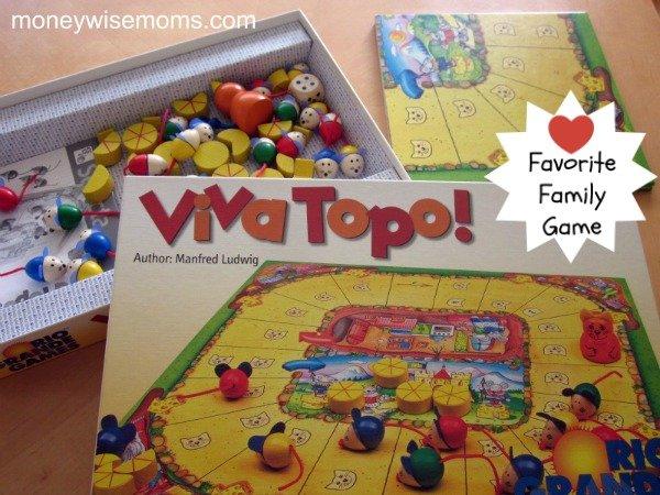 Viva Topo! {Favorite Family Game}