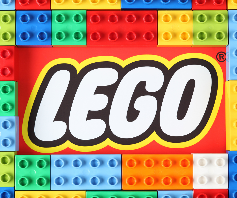 gifts for lego lovers featured image with lego brand across some lego blocks