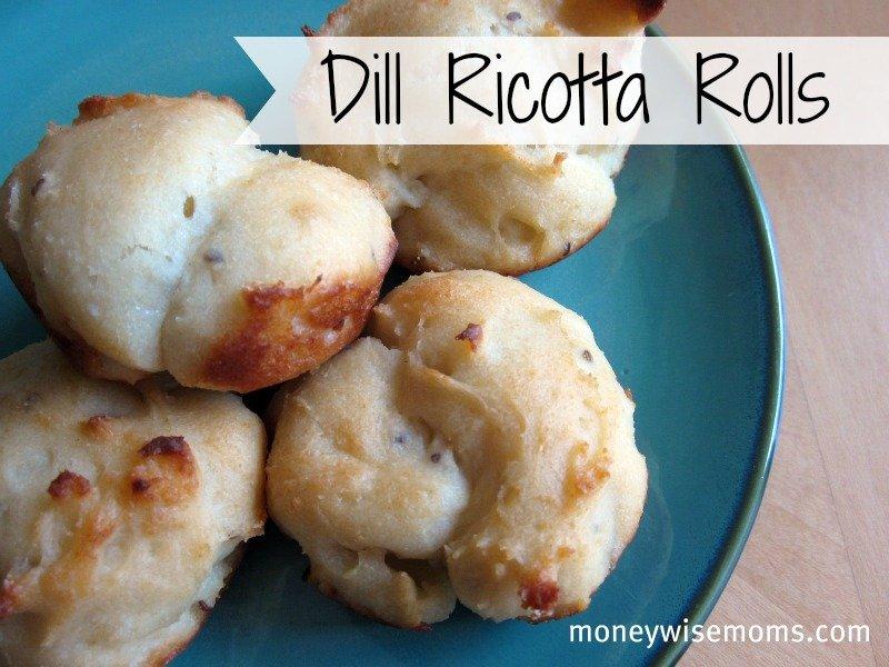 Dill Ricotta Rolls