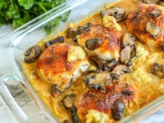 Mushroom and Artichoke Chicken