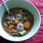 Quick and Easy Sausage Lentil Soup