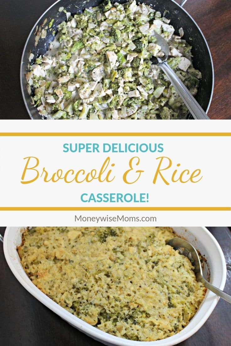Looking for a delicious gluten free dinner recipe? Here's an easy casserole recipe that is naturally gluten free, packed with flavor, and great for meal prep. My chicken broccoli rice casserole has all the great flavors you want without any extra work or hassle!