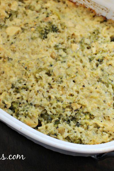 Chicken Broccoli Rice Casserole (Naturally Gluten-Free)