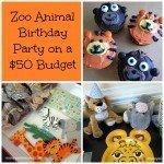 Zoo Animal Birthday Party
