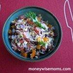 Rainbow Rice Salad Recipe
