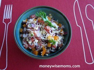 Rainbow Rice Salad
