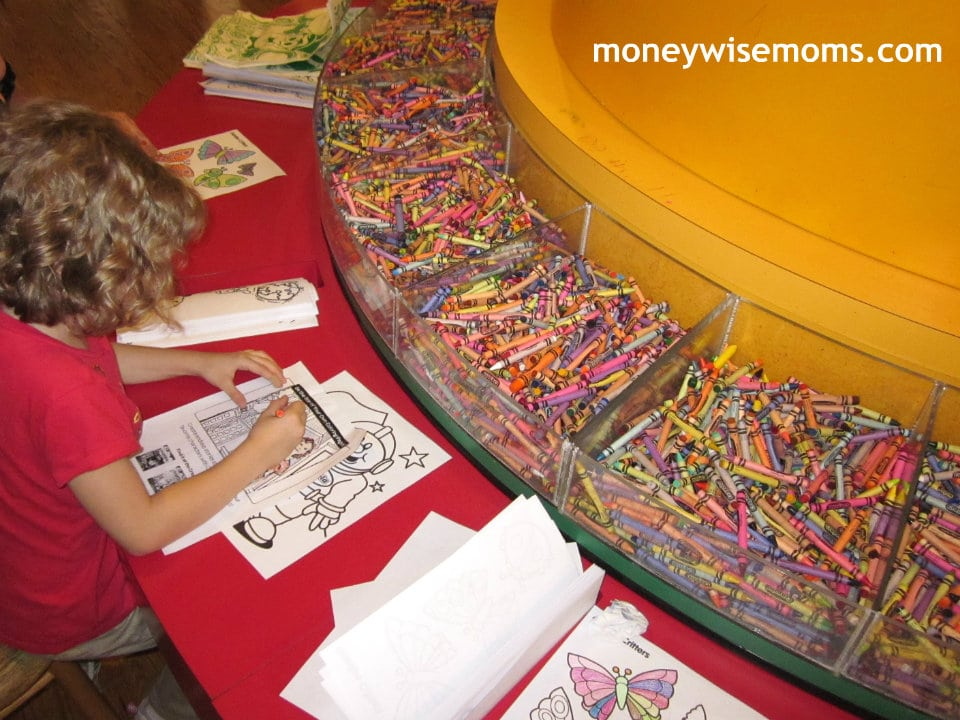 Crayola Experience | A fun family outing in Easton, PA | MoneywiseMoms