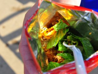 Traveling Tacos {Taco in a Bag}