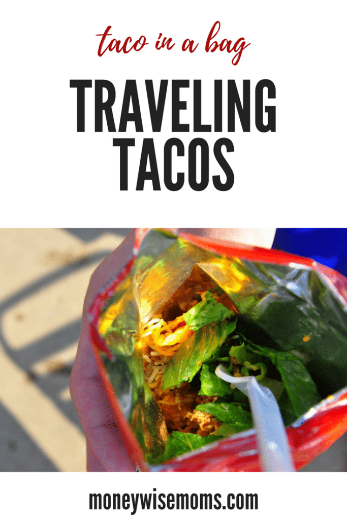 Ever eaten a Taco in a Bag? These Traveling Tacos are an easy and fun recipe!