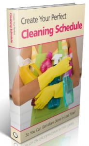 Cleaning Schedule   Weekly Household Chores via @MoneywiseMoms