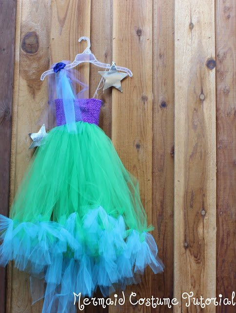 Mermaid Tutu DIY Costume