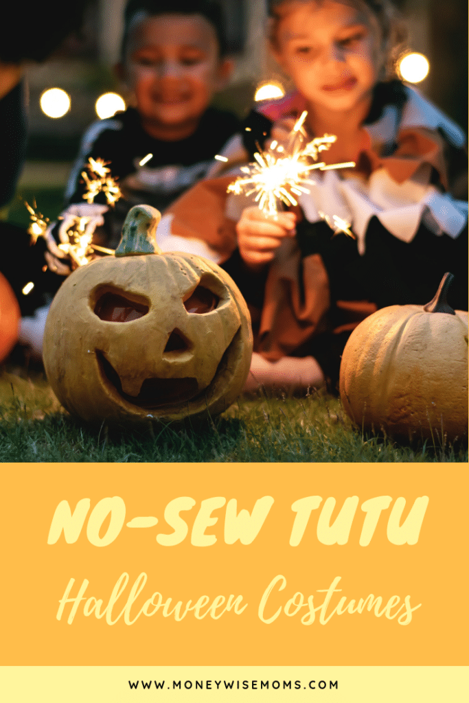 No-Sew Tutu Halloween Costumes