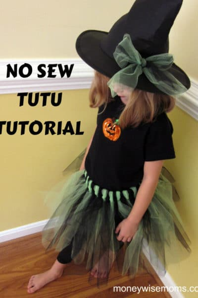 How to Make No-Sew Tutu Halloween Costumes