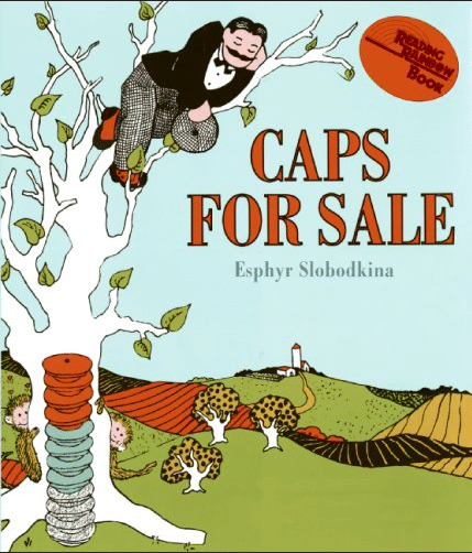 Caps for Sale | Favorite Read Aloud Books for Preschoolers | my three kids' favorites! | MoneywiseMoms