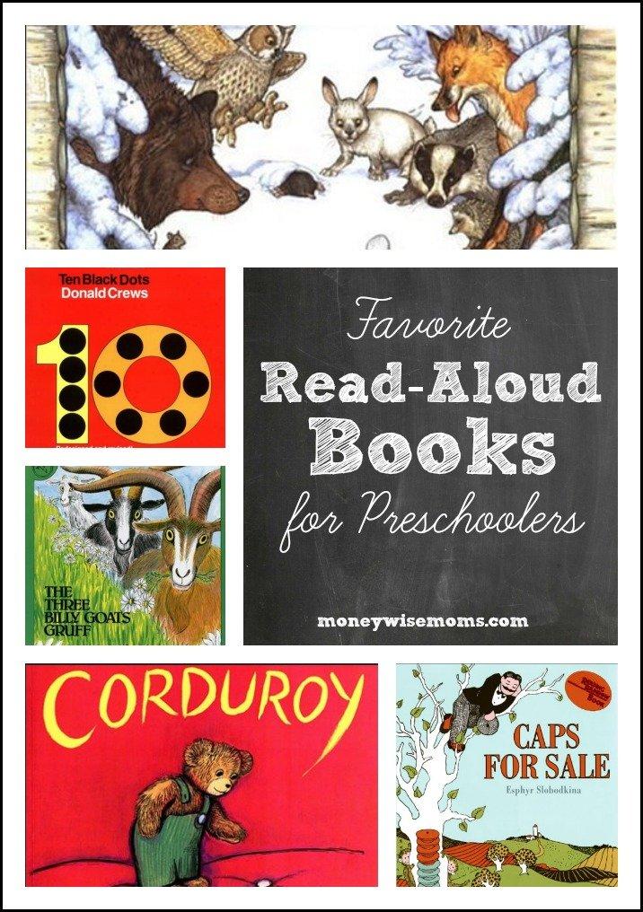 Favorite Read Aloud Books for Preschoolers | my three kids' favorites! | MoneywiseMoms