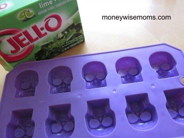 Jiggly Jello Skulls