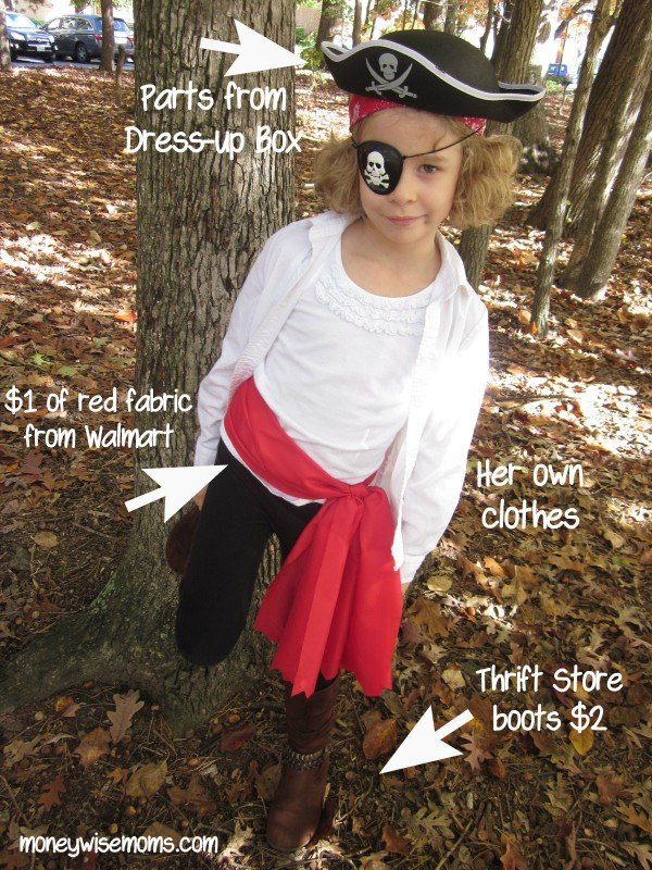 Pirate Costume + Tips for a Moneywise Halloween