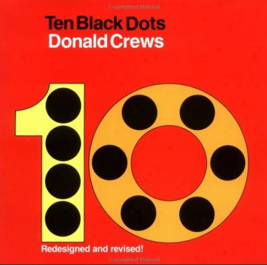 Ten Black Dots | Favorite Read Aloud Books for Preschoolers | my three kids' favorites! | MoneywiseMoms
