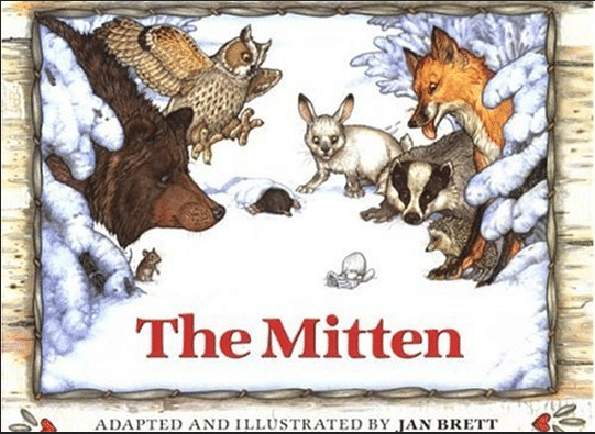 The Mitten | Favorite Read Aloud Books for Preschoolers | my three kids' favorites! | MoneywiseMoms