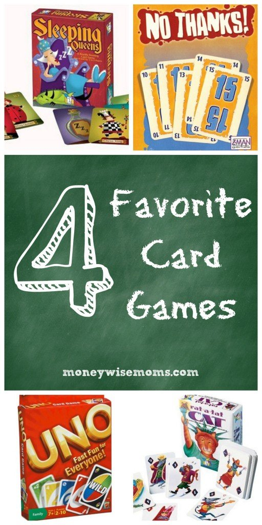 Favorite Card Games for Families | MoneywiseMoms