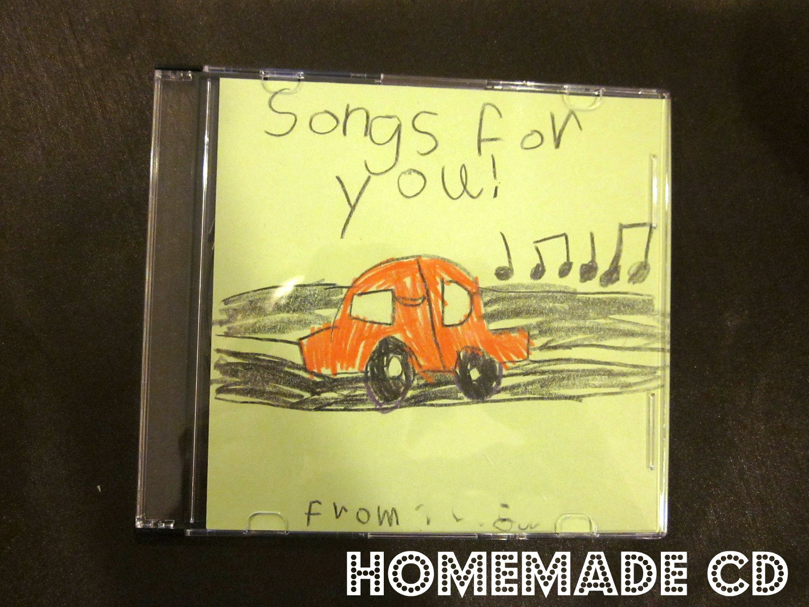 Homemade CD