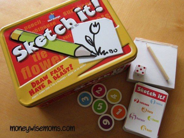 Sketch It Game | Favorite Family Games Gift Guide | MoneywiseMoms