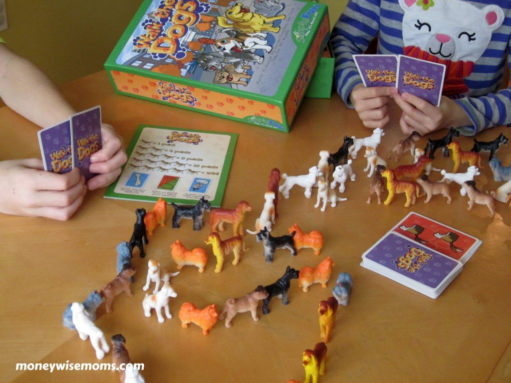 Walk the Dogs Board Game Review | MoneywiseMoms