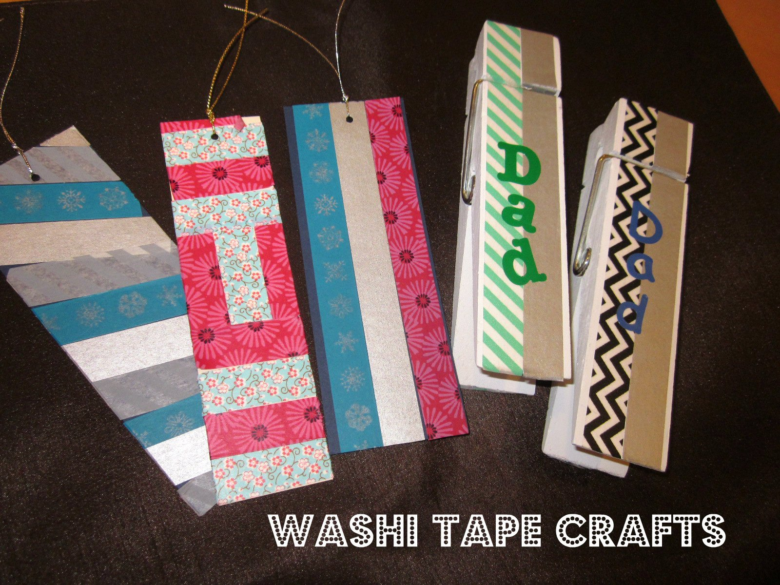 Washi Tape Crafts - homemade gifts