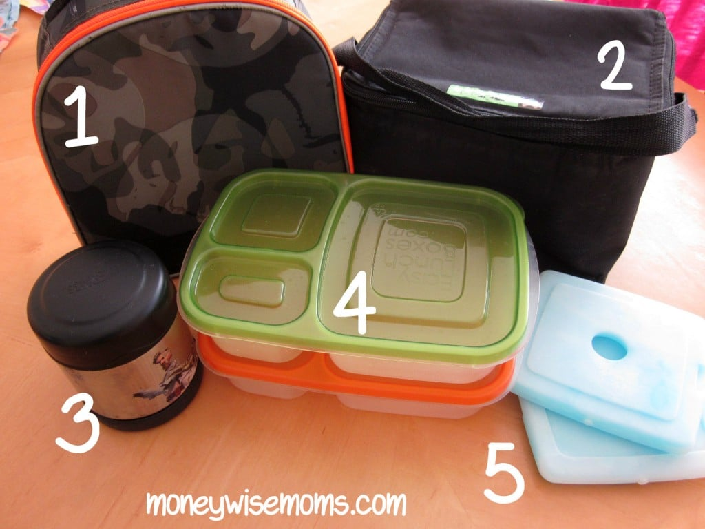 packing lunches