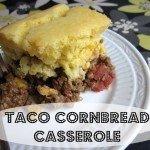 Taco Cornbread Casserole