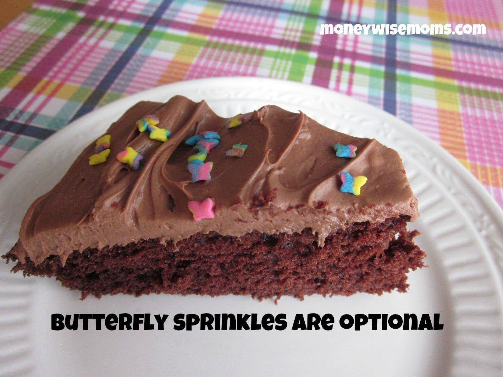 Homemade Chocolate Cake - Moneywise Moms