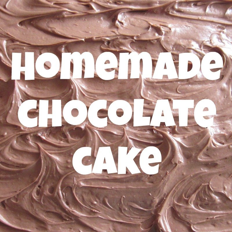 Homemade Chocolate Cake | Scrumption #recipe using all real food ingredients | MoneywiseMoms