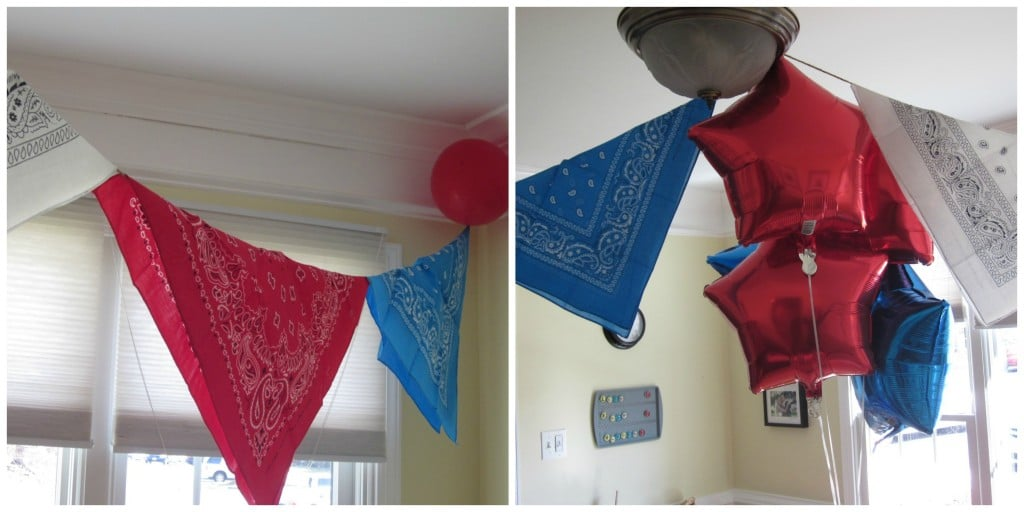 Bandana Banner | Western Birthday Party | MoneywiseMoms