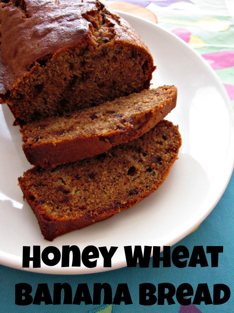 Honey Wheat Banana Bread